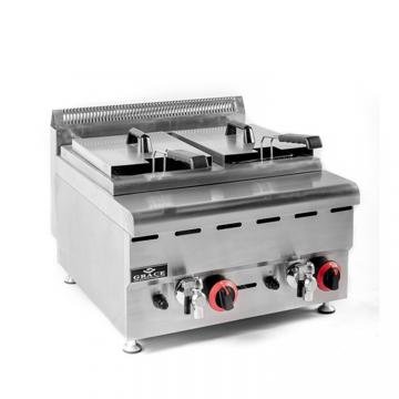 Sc-71 Stainess Steel with Gas Fryer Deep Fryer for Sale