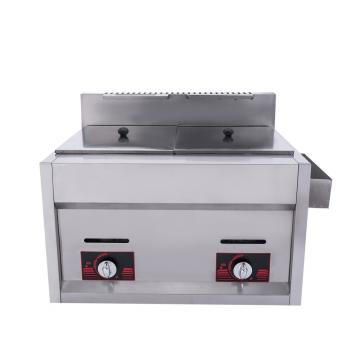 Good Quality Continuous Gas Electric Deep Fryer 304 Stainless Steel for Sale